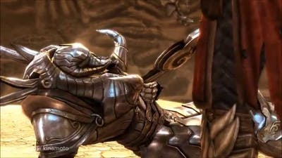 gabriel vs pan (castlevania lord of shadow)