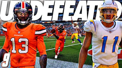 We're both UNDEFEATED heading into week 11 and had the game of the year..
