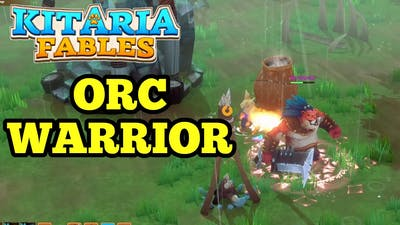 Kitaria Fables Orc Warrior Boss Fight