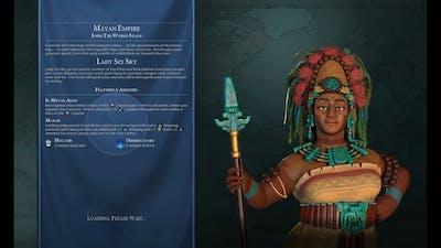 Civ VI Maya Domination Deity Huge Detailed Continents Marathon Blowing 3 Million Gold! 38