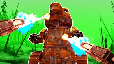 I DESTROYED a GIANT ROBOT BEAVER with LASERS in Dick Wilde 2 VR!
