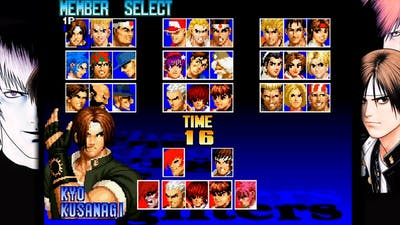 The King of Fighters '97 Global Match All Characters [PS Vita]
