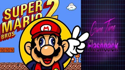 Game Time Flashback: Super Mario Bros 2 EP 1 - (1986)