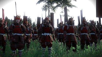 Battle of the Samurai   21,000 Unit Cinematic Battle   Total War Shogun 2