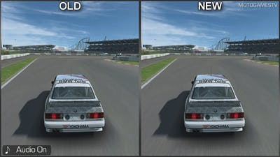 RaceRoom - BMW E30 DTM 92' - Old vs New - Sound Comparison