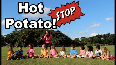 Hot Potato Game Song for Children (Official Video) by Patty Shukla | Nursery Rhymes| Hot Potato Game