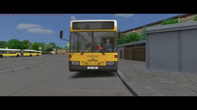 OMSI2 Berlin X10 Addon    From depot Cicerostr. to Hertzallee   with O405 addon