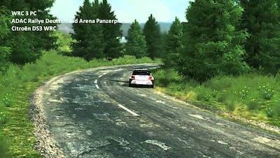 WRC 3 PC - ADAC Rallye Deutschland Arena Panzerplatte
