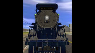 Trainz simulator # 70 the blue comet races to the beat