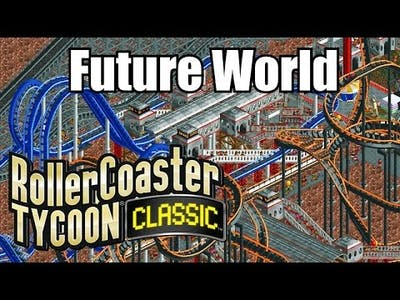Roller Coaster Tycoon Classic - Future World