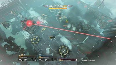 Helldivers - 3P REC-6 'Demolisher' vs Cyborgs (RS)