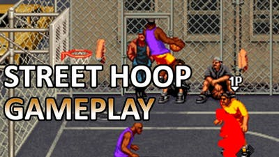 Street Hoop (Neo Geo) - USA Gameplay (No Commentary)
