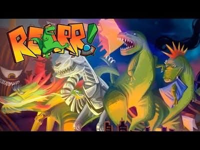 ROARR The Adventures of Rampage Rex part 2   w / commentary