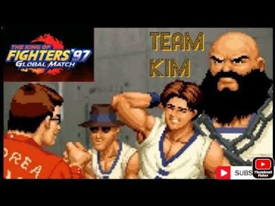 THE KING OF FIGHTERS '97 GLOBAL MATCH (TEAM KIM FINAL HISTÓRIA)#KOF97