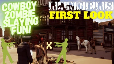 I am a Cowboy Zombie Slayer! | RANGERS First Look Gameplay
