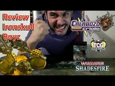 Unboxing de Ironskull Boyz de Warhammer Underworlds