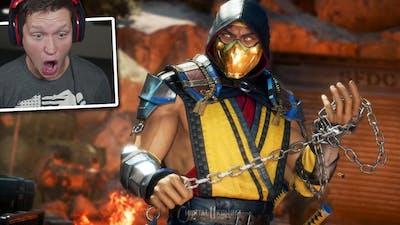 Mortal Kombat 11 - Part 1 - This Game is INSANE
