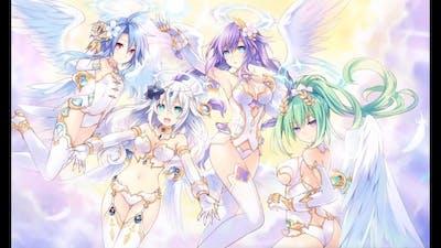 Cyberdimension Neptunia: 4 Goddesses Online   The 4 Goddesses