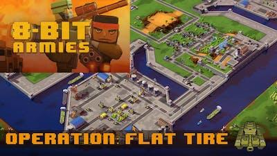 8-Bit Armies - Let's Play Part 2: Flat Tire [Hard]