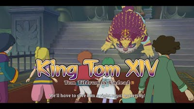 Ni no Kuni Wrath of the White Witch™ Remastered - 77 Ding Dong Dell #6 Zombies & BOSS King Tom XIV