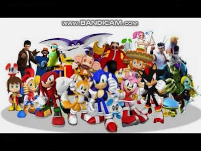 Sonic & Sega All Stars Racing All Character Voice Clips