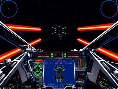 Playthrough of X-Wing vs TIE Fighter Rebel Mission 7 Part 2 - Capture the Compellor