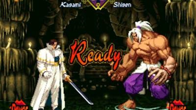 The Last Blade (Arcade/Neo Geo MVS) Playthrough as Kagami