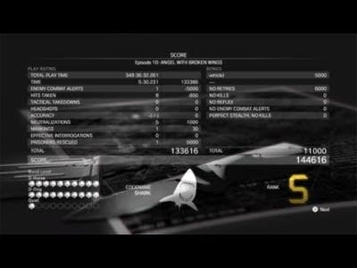 METAL GEAR SOLID V: THE DEFINITIVE EXPERIENCE - Episode 10 Angel with Broken Wins - S Rank