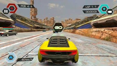 Cyberline Racing Gameplay