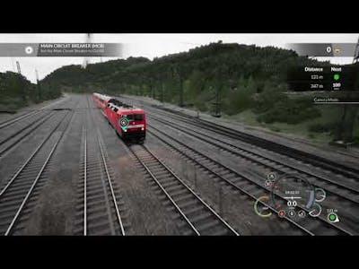 Train Sim World BR 143 Startup