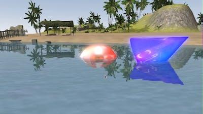 AGK2: Bloom , FXAA , Reflections , Cartoon shaders.