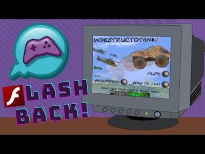 Flash Game FLASHBACK! - Lets Play IndestructoTank