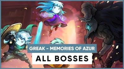 Greak : Memories of Azur | All Bosses