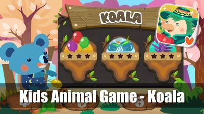 Kids Animal Game - Koala - from The Google Play Store