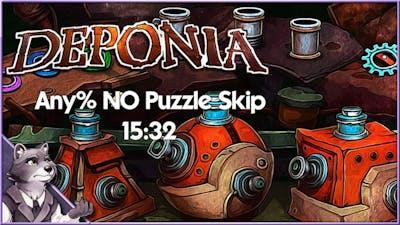 Deponia - Speedrun - Any% No Puzzle Skip - 15:32 [WR]
