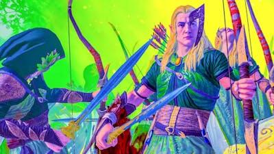 Realm of The Wood Elves DLC - Total War WARHAMMER Cinematic Battle Machinima