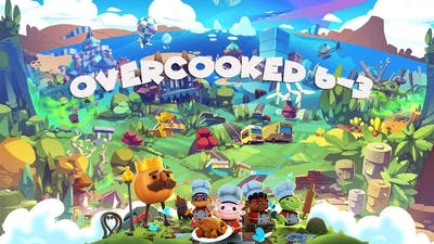 Overcooked All you can eat! Overcooked 6-3 ~ 4 Star (4星) - 2 Player co-op