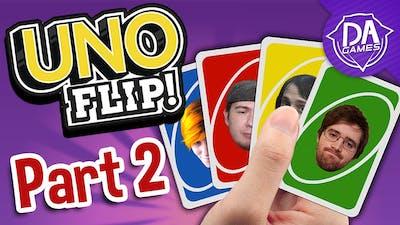 SEAN'S A LOSER!   UNO FLIP! (feat. DACrew) Part 2   DAGames