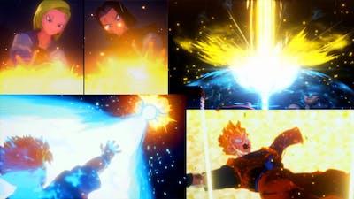 Future Gohan Vs. Android 18 and 17🔥🔥 | Dragon Ball Z: Kakarot Trunks the Warrior of Hope
