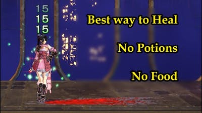 Best way to Heal Miriam - No Potions - No Foods - Bloodstained ROTN