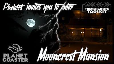 Planet Coaster - Mooncrest Mansion
