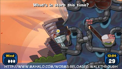Worms Reloaded Walkthrough - Mission 35 - Part 1