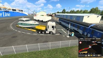 Euro Truck Simulator 2 Gameplay #32 (Stockholm to Tallinn)