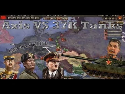 Destroying The Axis with 37K Soviet Tanks