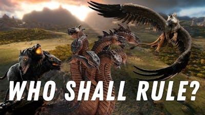 Who is the best Monster? A Total War Saga Troy: Mythos DLC