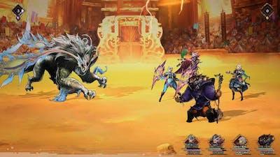 Astria Ascending Onis The Leo Astrae Coliseum Boss Fight