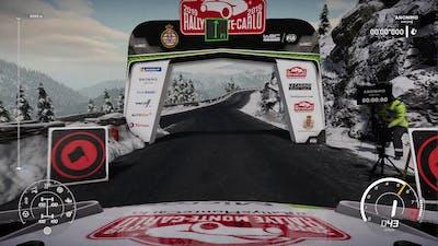 WRC8[Gameplay] Rallye Monte-Carlo - Luceram reverse