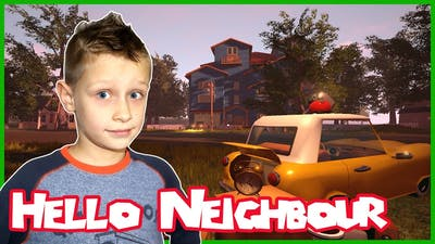 Hello Neighbor / SCARY HORROR SCREAM IF YOU WANT GAME