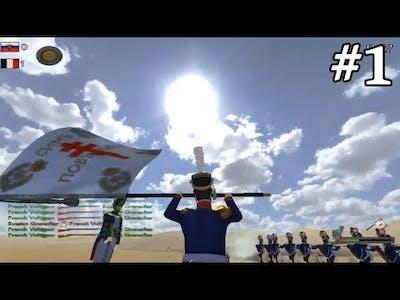 Mount & Blade Napoleonic Wars Commander Battle #1