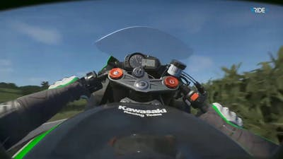Ride 3 - Kawasaki Ninja ZX-6R KRT edition (realism) - relaxing psychedelic trance gameplay Vol.1